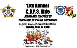 17th Annual C.O.P.S. Ride Info