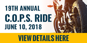 C.O.P.S. Ride banner