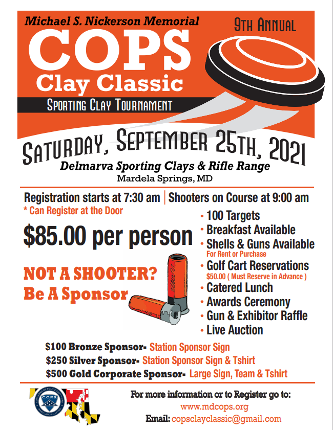 Clay Classic Shoot Out Flyer